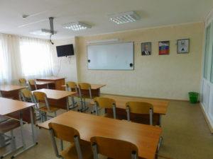 на каждом этаже есть  учебный класс с мультимедийным оборудованием